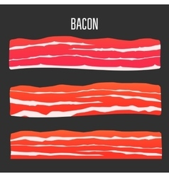 Bacon vector image