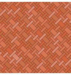 brick floor vector image