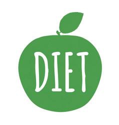 Diet label vector