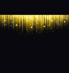 glitter background christmas lights with bokeh vector image