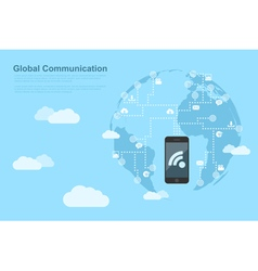 Global communications 2 vector