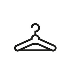 Hanger icon on white background vector
