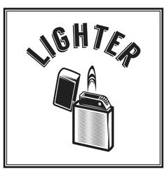 monochrome antique hipster vintage label badge vector image