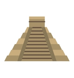 pyramid egypt isolated icon vector image
