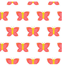 seamless pattern with butterflies perfect for vector image