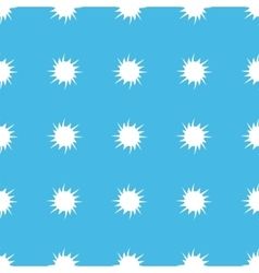 Starburst straight pattern vector