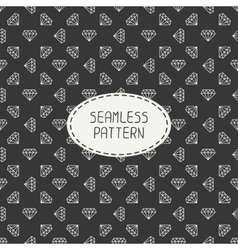 geometric seamless retro pattern with vector image vector image