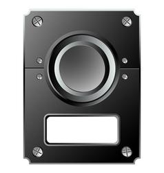 control panel vector image