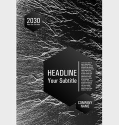 Booklet design layout vector