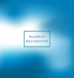 Bright colorful modern smooth juicy blue white vector