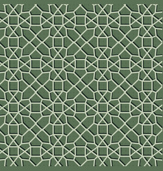 geometric green pattern background texture vector image
