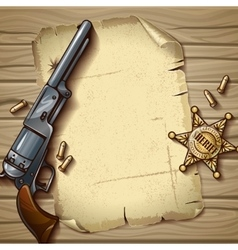 Sheriff Stars Composition vector
