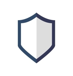 Shield icon Security and Protection care vector image