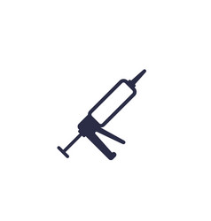 silicone caulk gun icon vector image