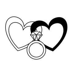 Valentine day card vector