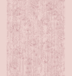 dandelion flower abstract pattern trendy vector image