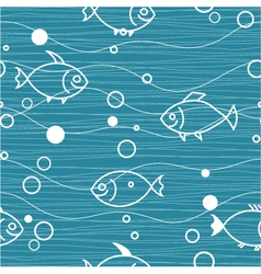 water seamless vector image vector image
