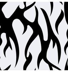 Seamless pattern texture of zebra vector image
