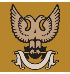 eagle crest vector image