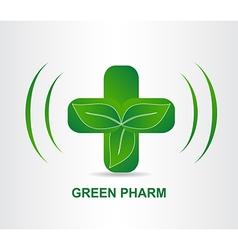 Green Pharmacy 002 vector image vector image