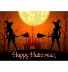 Happy Halloween Theme vector image