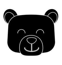 bear cartoon animal vector image