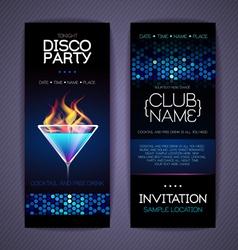 Disco Corporate identity templates vector