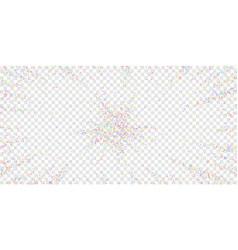 festive confetti celebration stars colorful star vector image
