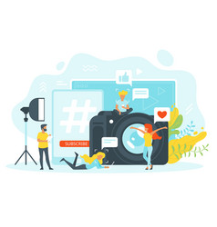 Freelance and remote work vector