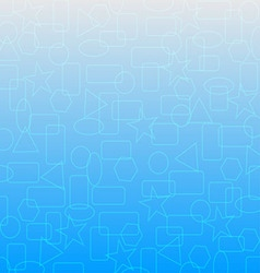 Geometry background vector