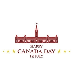 Independence Day Canada vector