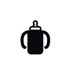isolated container icon beverage element vector image
