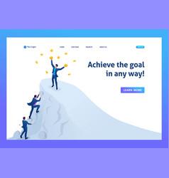 Isometric achieve success to achieve the goal vector