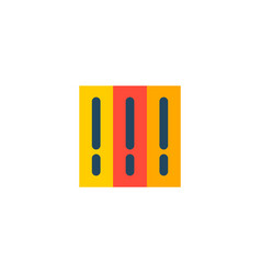 library icon flat element of vector image
