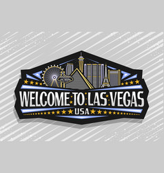 Logo for las vegas vector