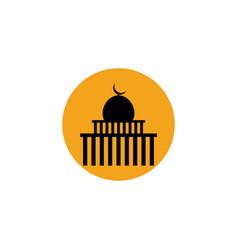 Mosque logo vector