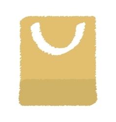 Shopping bag icon image vector