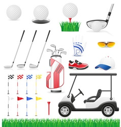 Golf 15 vector