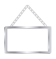 square painting frame icon vector image