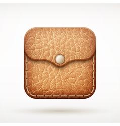 icon wallet vector image vector image