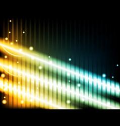 energy beams vector image vector image