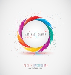 abstrac design vector image