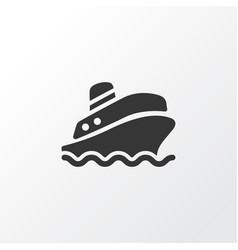 Cruise icon symbol premium quality isolated vector