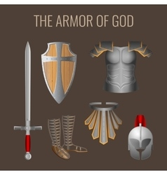 Long sword spirit readiness shield armour vector