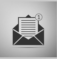 Received message new email incoming message vector