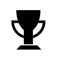 sportive cup icon icon simple element sportive vector image