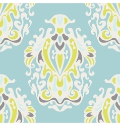 royal luxury cute damask seamless design vector image