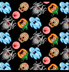 halloween icons design elements for halloween vector image