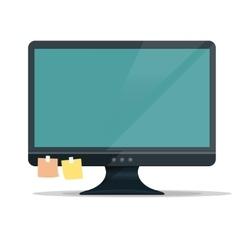 Computer Monitor Display vector image vector image