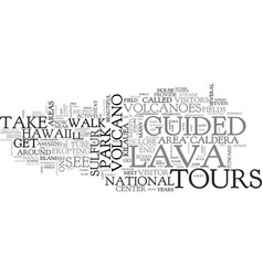 Bbe amazed by guided tours of hawaii text word vector